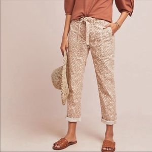 Anthropologie The Wanderer Utility Leopard Print